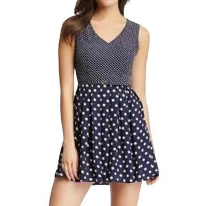 Charming Charlie Polka Dot Dress